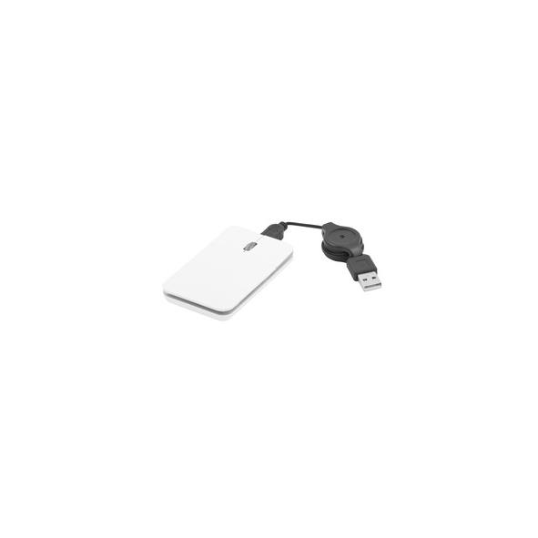 Mouse con luz blanca