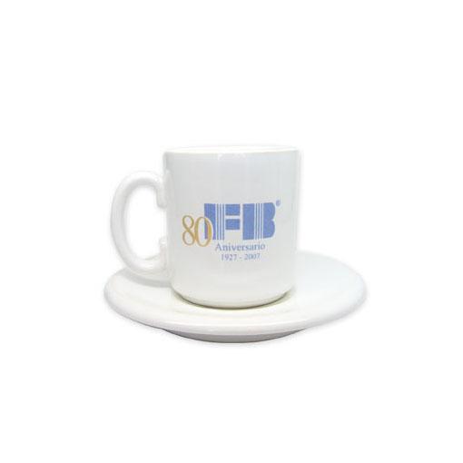 Pocillo Café y medio con plato