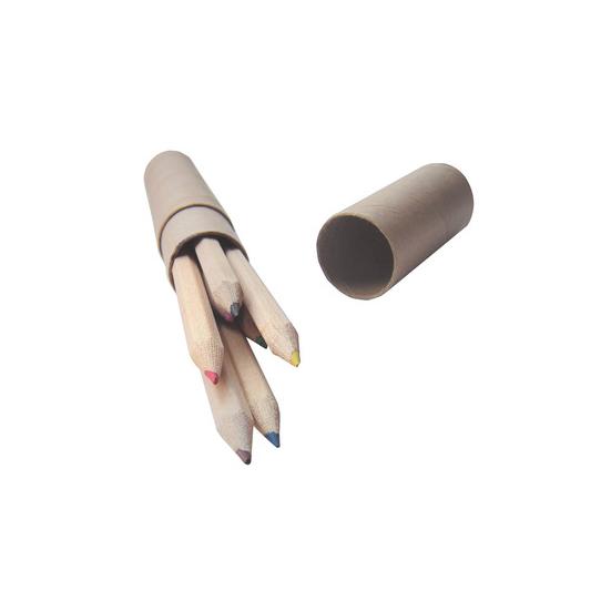 Cilindro con lápices de colore